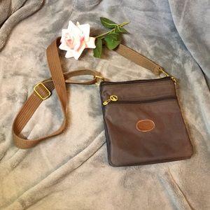 Brown Longchamp Crossbody purse